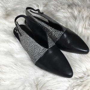 Alexander Wang Shattered Leather Mules Size37